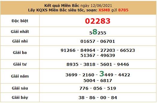 Dự đoán XSMB 13/6/2021 - Soi cầu xổ số miền Bắc 13/6/2021 7