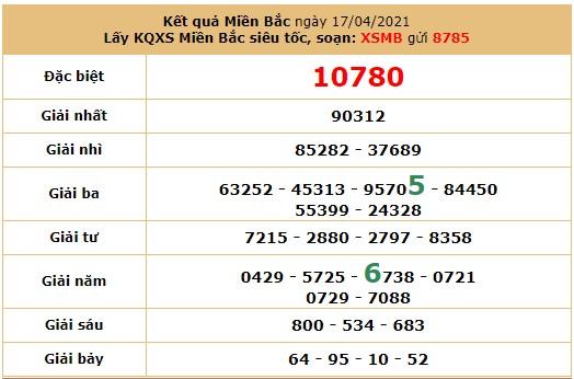 Soi cầu dự đoán XSMB 18/4/2021 hôm nay Chủ Nhật 6