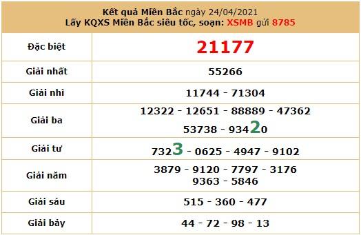 Soi cầu dự đoán XSMB 26/4/2021 hôm nay thứ 2 7