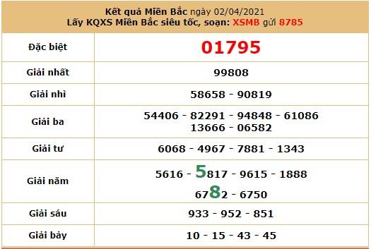 Soi cầudự đoán XSMB 3/4/2021 hôm nay thứ 7 6