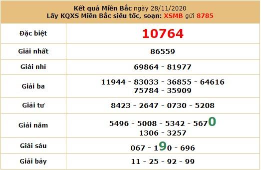 Soi cầu dự đoán XSMB 30/11/2020 hôm nay thứ 2 7